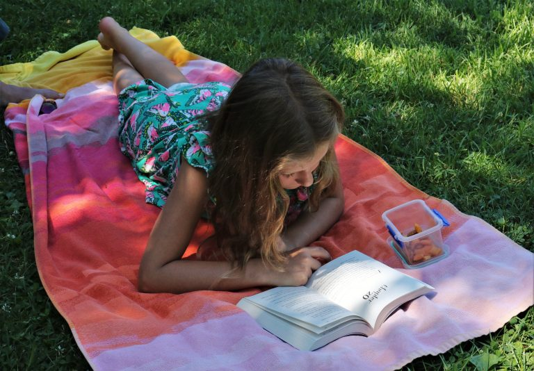 Четене през лятната ваканция